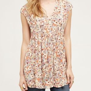 Anthropologie | Vanessa Virginia Tunic Top
